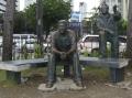 Benigno A Aquino JR Monument on Roxas Boulevard