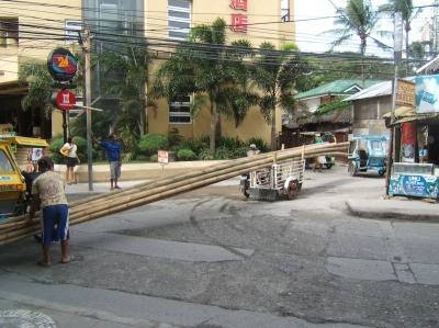 Boracay Island Philippines Bamboo Trike