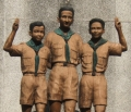 Scouts Memorial Statue in Intramuros
