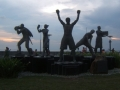 Manny Pacquiao Monument At Sm Mall Of Asia