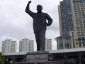 Jose P Laurel Monument on Roxas Boulevard