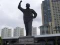 Jose P Laurel Monument on Roxas Boulevard