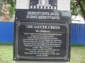 The Jaycee Creed Memorial in Quezon City