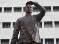 Ramon Magsaysay Statue on Roxas Boulevard