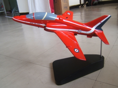 Red Arrows Wooden Model