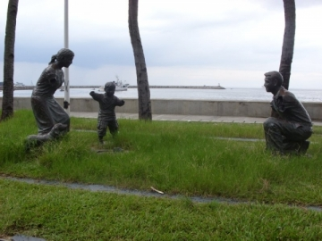 Unidentified Monuments of Children on Roxas Boulevard
