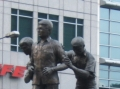 Ninoy  Aquino Memorial Monument, Ayala Avenue