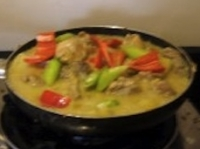 pinoy food chicken curry