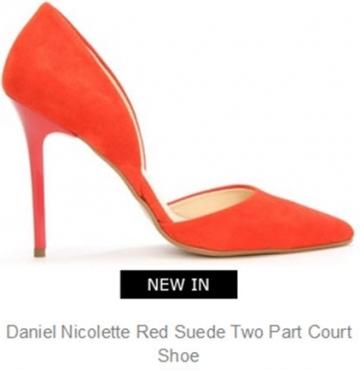 shoe from daniel