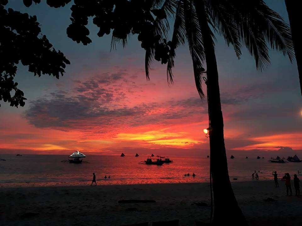 Boracay White Beach in August 2017