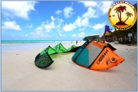 Kitesurfing at Boracay Island